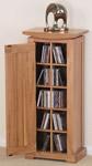 Tokyo Oak CD Storage Unit