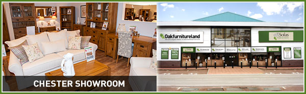 See the quality of our solid wood furniture at Oak Furniture Land Chester