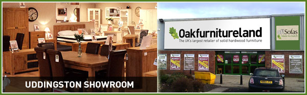 See the quality of our solid hardwood furniture at Oak Furniture Land Glasgow