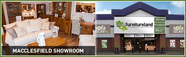Quality solid wood furniture at Oak Furniture Land Macclesfield