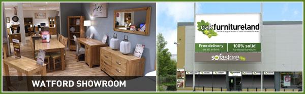 Quality solid wood furniture at Oak Furniture Land Watford